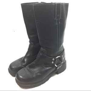 Harley Davidson Women's Leather Moto Boots